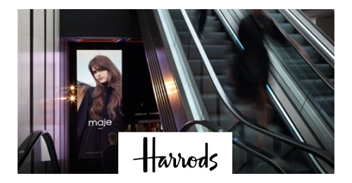 Harrods - In this temple of luxury, top brands get proven results on their DOOH campaigns
