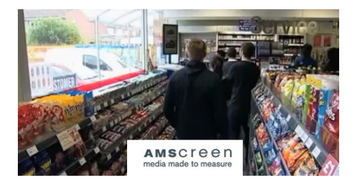 Amscreen - The pionneer of DOOH in the UK put a camera on thousands of screens
