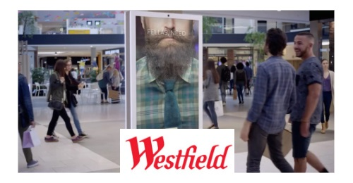 Westfield USA - The reference commercial center brand offers cutting edge experiences on all of its DOOH screens