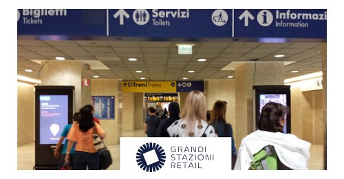Grandi Stazioni Retail - This large DOOH network in train stations shares why it is seen as a world pioneer in DOOH