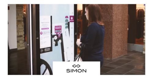 Simon Property Group - The #1 mall company in the US made its information kiosks smarter with Quividi