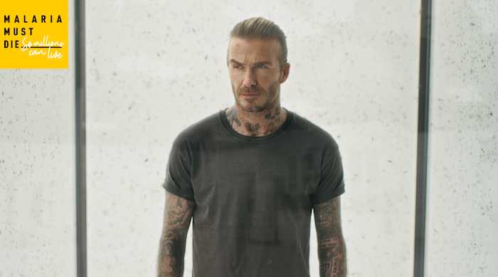 NEW DIGITAL MOSQUITO FILTER AND DOOH BECKHAM AD CALL ON MORE PEOPLE TO DEMAND THAT 'MALARIA MUST DIE'