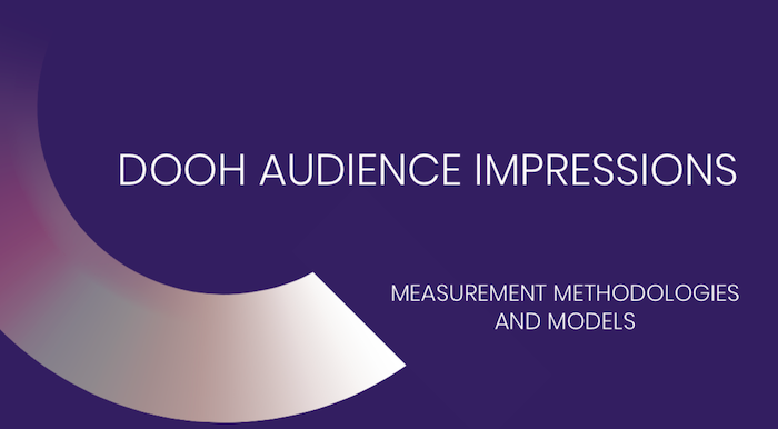 Quividi Explores DOOH's Path to Cross-Media Compatibility With New White Paper on Audience Impressions