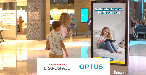 SCENTRE GROUP BRANDSPACE & OPTUS