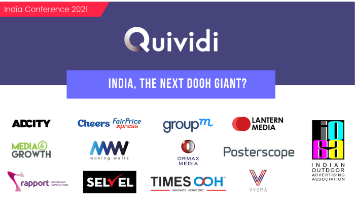 ACCESS THE REPLAY OF Quividi India conference